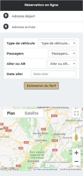 Réservation en ligne de votre chauffeur VTC sur Chambéry