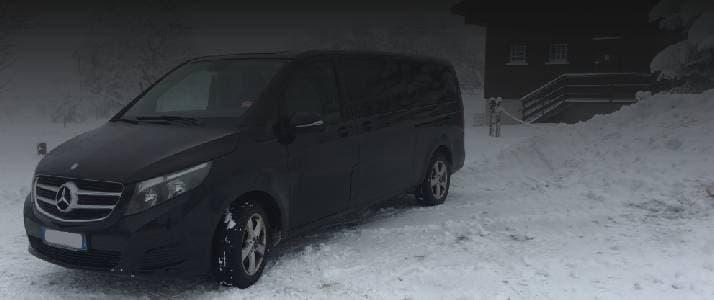 Service de transport entre Chambéry et les stations de sports d'hiver de Savoie